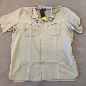 Under Armour Fishing Shirt Men's Size Large